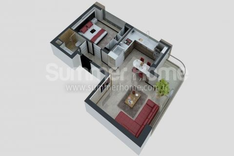 Apartments with Affordable Prices in Antalya - Property Plans - 23