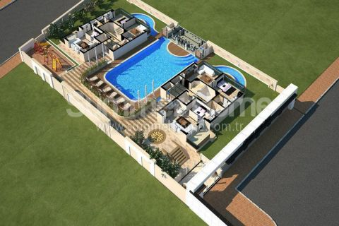 Apartments with Affordable Prices in Antalya - Property Plans - 25
