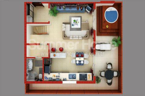 Supermoderné apartmány na predaj v Alanyi - Plány nehnuteľností - 40