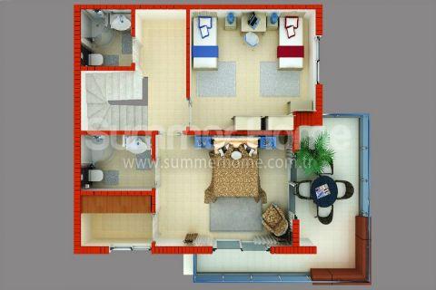 Supermoderné apartmány na predaj v Alanyi - Plány nehnuteľností - 42
