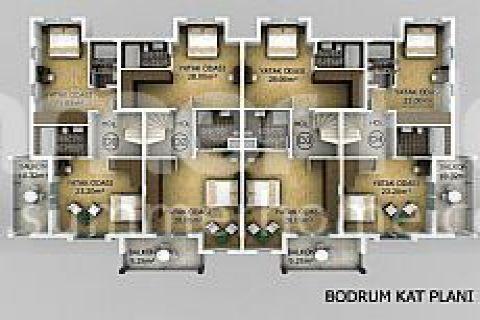 Превосходные апартаменты в Фетхие - Планировка  - 13