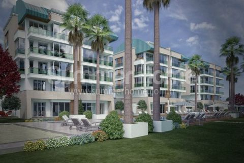 Luxury Residence with Large Apartments in Antalya