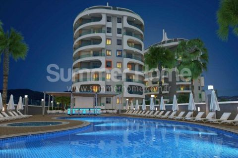 Luxury Apartments for Reasonable Prices with Wonderful View in Alanya