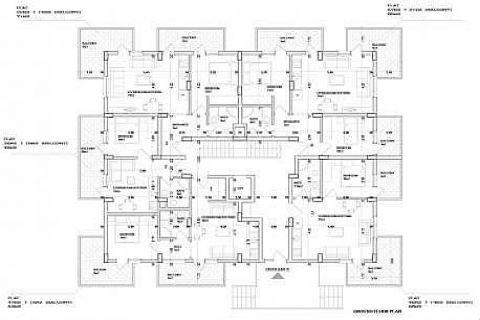 Современные апартаменты в Best Home City 10 Residence - Планировка  - 22