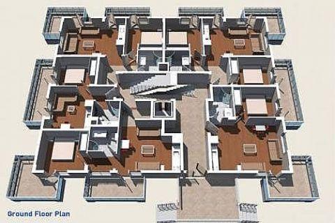 Современные апартаменты в Best Home City 10 Residence - Планировка  - 23