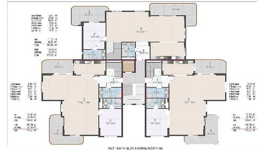 阿拉尼亚奥巴的位置优越的公寓 plan - 2