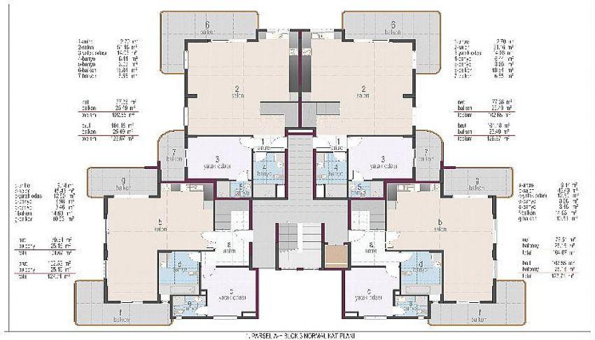 阿拉尼亚奥巴的位置优越的公寓 plan - 5