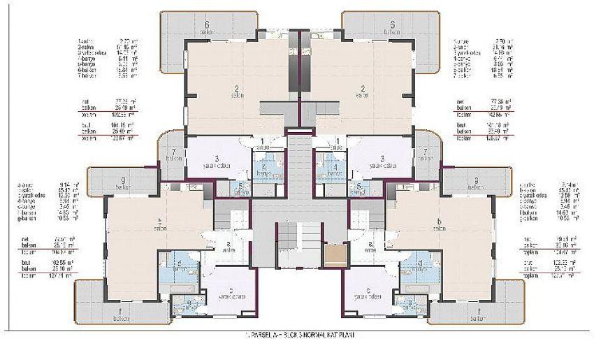 阿拉尼亚奥巴的位置优越的公寓 plan - 6