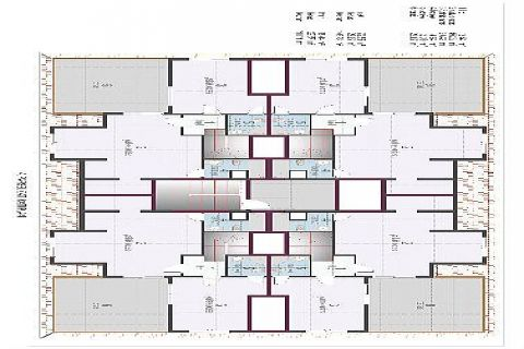 Oba Crown Residence - Eiendoms planer - 17
