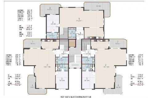 Oba Crown Residence - Eiendoms planer - 18