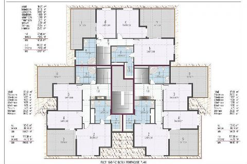 Oba Crown Residence - Eiendoms planer - 19