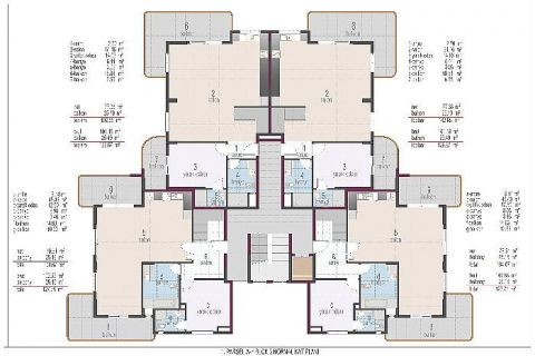 Oba Crown Residence - Eiendoms planer - 21
