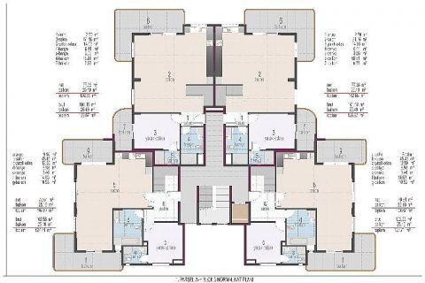 Oba Crown Residence - Eiendoms planer - 22