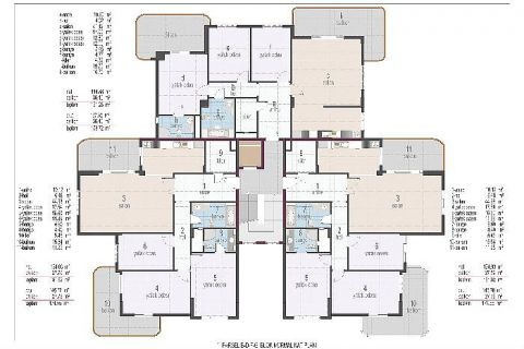Oba Crown Residence - Eiendoms planer - 24