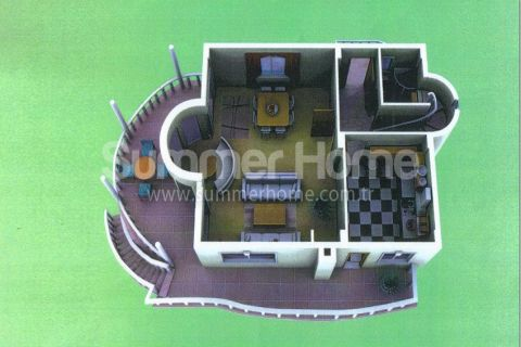 Summerhome Villa for Sale in Alanya - Property Plans - 27