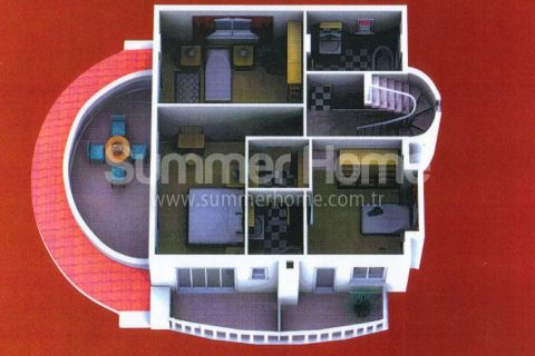 Summerhome Villa for Sale in Alanya - Property Plans - 28