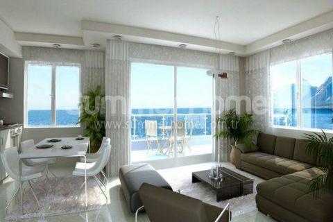 Veľké apartmány s výhľadom na more v Alanyi - Fotky interiéru - 6