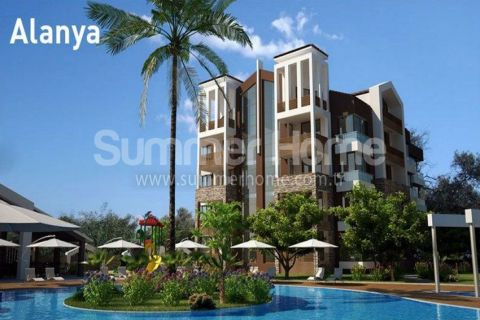 Trendy Apartments and Penthouses in Alanya