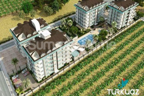 Luxus Wohnungen mit Meerblick in Alanya - 1