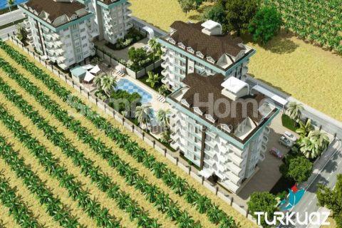 Luxus Wohnungen mit Meerblick in Alanya - 2