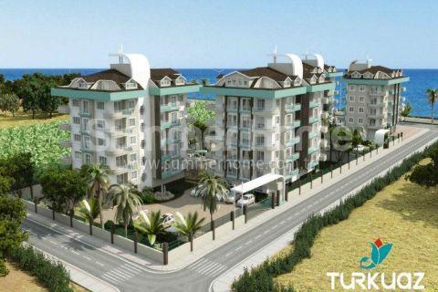 Luxus Wohnungen mit Meerblick in Alanya - 4