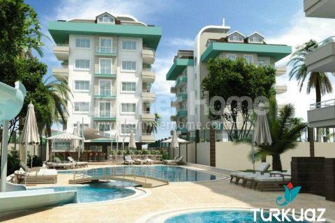 Luxus Wohnungen mit Meerblick in Alanya