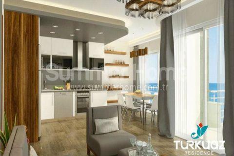 Luxus Wohnungen mit Meerblick in Alanya - Foto's Innenbereich - 7