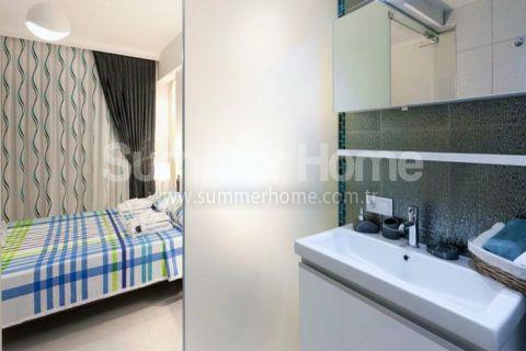 Luxus Wohnungen mit Meerblick in Alanya - Foto's Innenbereich - 23