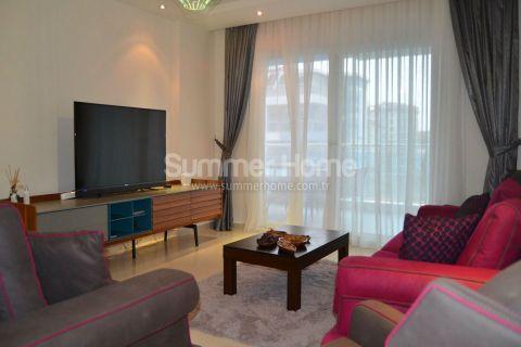 Prachtig volledig gemeubileerd duplex appartement met 3 slaapkamers in Alanya