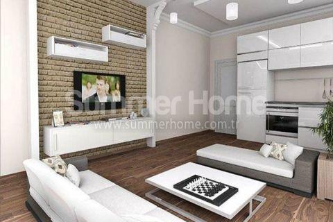 Шикарные квартиры в зеленом районе Алании - Фотографии комнат - 9
