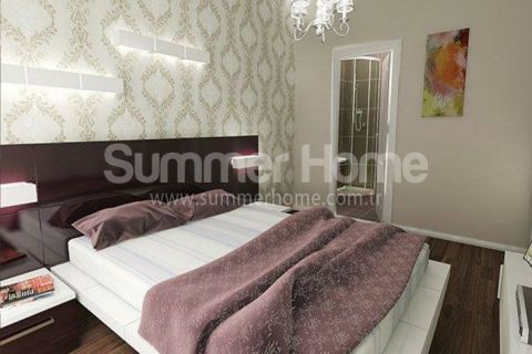 Шикарные квартиры в зеленом районе Алании - Фотографии комнат - 12