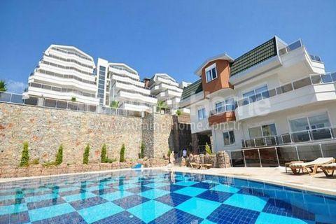 3-izbový apartmán s výhľadom na more na predaj v Alanyi - 3