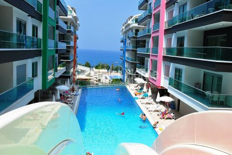 Luxury Apartments with Panoramic Views in Quiet Area in Alanya