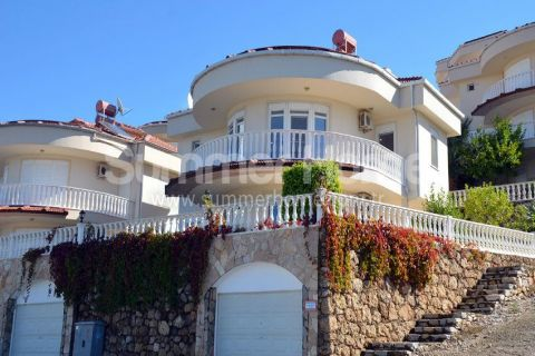 Fancy Villa with Incredible View in Popular Area in Kargicak, Alanya