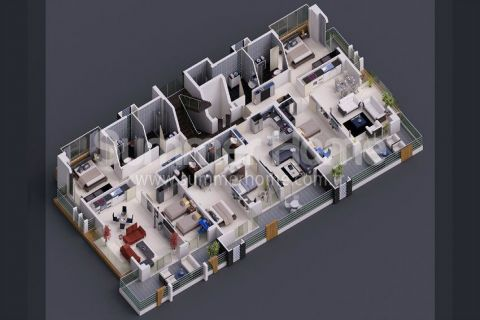 Oba Life Garden - Immobilienplaene - 63