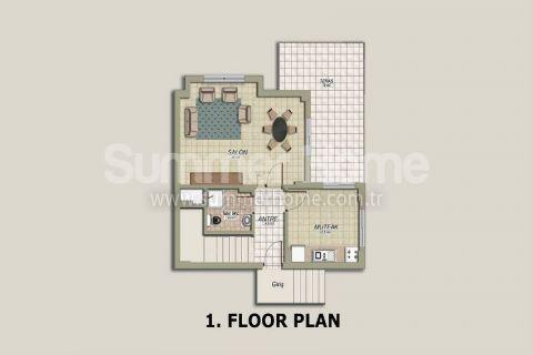 Tepe 4 Villa in Alanya - Immobilienplaene - 21