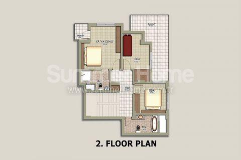 Tepe 4 Villa in Alanya - Immobilienplaene - 22