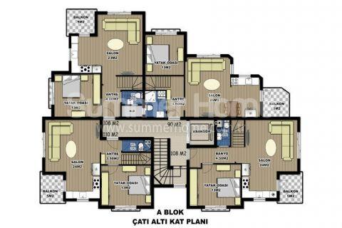 Via Life Residence in Antalya - Immobilienplaene - 10