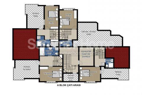Via Life Residence in Antalya - Immobilienplaene - 11
