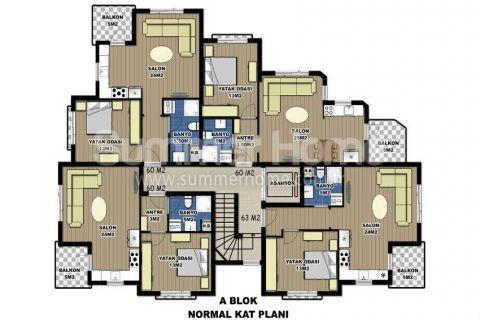 Via Life Residence in Antalya - Immobilienplaene - 13
