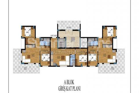 Honosné apartmány na predaj v Antalyi - Plány nehnuteľností - 11