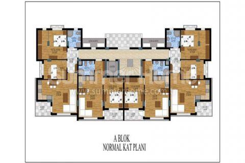 Honosné apartmány na predaj v Antalyi - Plány nehnuteľností - 12