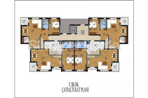 Honosné apartmány na predaj v Antalyi - Plány nehnuteľností - 13