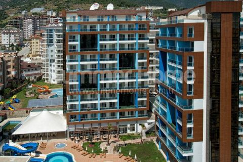 Apartments in Luxury Residence Close to Shopping Centers in Alanya