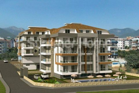 New Exclusive Apartments for Sale in Alanya