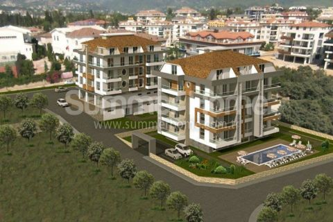 New Exclusive Apartments for Sale in Alanya - 1