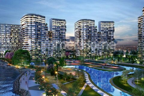 Exclusive Sea View Apartments in Attractive Area in Istanbul