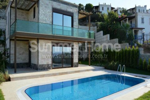 Exclusive Detached Villa with Panoramic Sea View in Bodrum