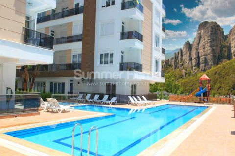 Spacious Apartments in Favored Area Close to the Beach in Antalya