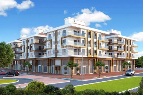 Apartments in Luxury Complex Close to All Amenities in Kepez, Antalya